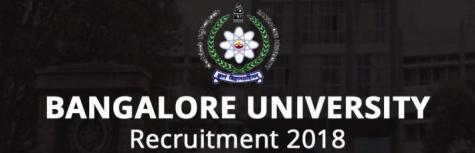 Bangalore University are hiring  for Project Fellow candidates  Last Date to apply on  03 Jul 2018