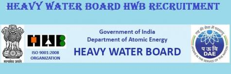 Heavy Water Board Looking  for Stipendiary Trainee ,  Stenographer Upper Division Clerks posts Across India. Last Date to apply: 25 Jun 2018