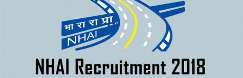 NHAI Recruitment 2018, recruiting freshers for the post of Young Professionals, job location New Delhi,last date to apply on 13 September 2018