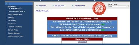 Railway RPF & RPSF Constable Recruitment 2018: Check Official Notification & Dates