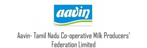 Aavin Recruitment 2018, recruiting freshers for the post of Manager,job location Chennai,last date 5 September 2018