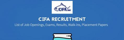 CIFA Walk in Interview 2018.for the post of Young Professional,job location Bhubaneswar,Venue date 10 October 2018