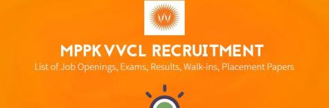 MPPKVVCL Recruitment 2018 hiring freshers for the post of Asst Manager,Jr Engineer, Total  Vacancies 74, Last Date 25 August 2018